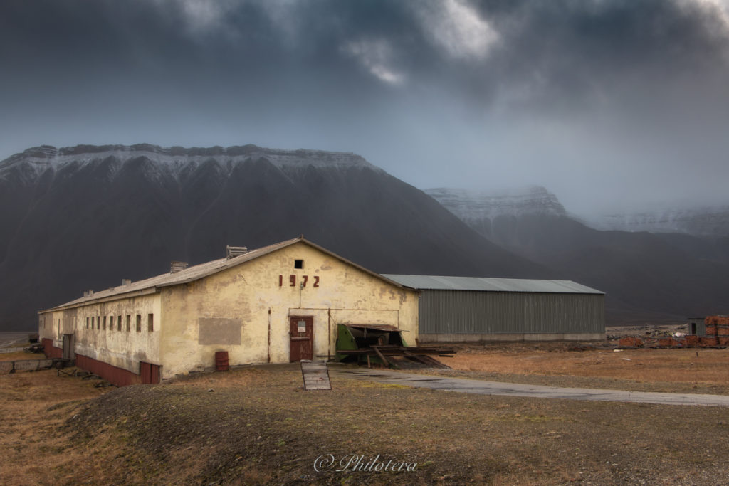 Dairy Building at Pyramiden
