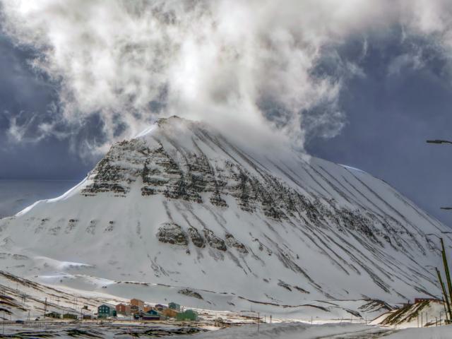 Nybyen, svalbard red zone, longyearbyen, arctic, climate change